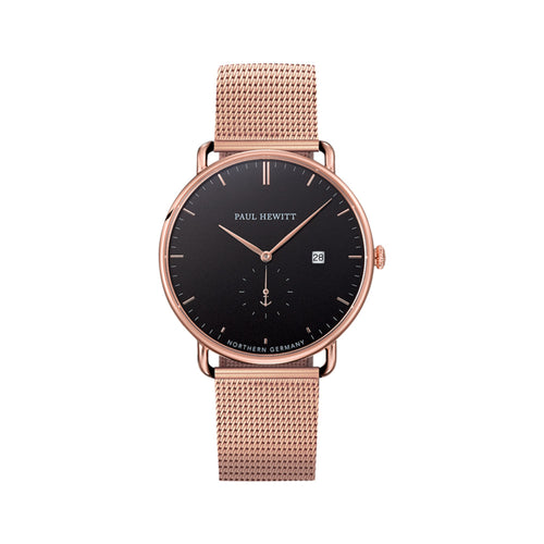 Grand Atlantic Line Rose Gold Tone 42mm Watch