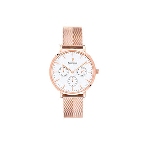 Symphony Rose Gold White Rose Gold Mesh Watch