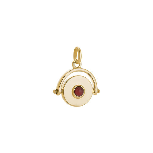 18ct Gold Plated Protection Spinner Charm