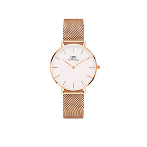 Petite Melrose White Rose Gold 32mm Watch