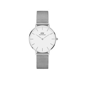 Petite Sterling White Silver 32mm Watch