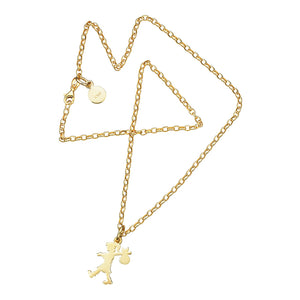 9ct Gold Runaway Girl Small Necklace