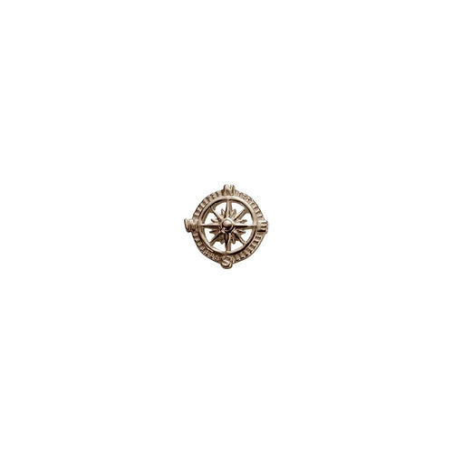 9ct Rose Gold Compass Charm