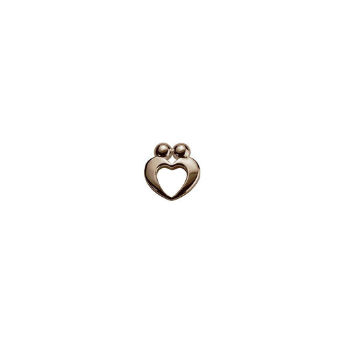 9ct Rose Gold True Love Charm