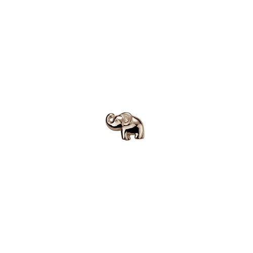 9ct Rose Gold Elephant Charm
