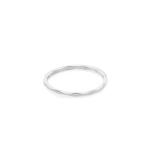Silver Lil Perfect Circle Stacker Ring