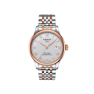 Le Locle and Rose Gold and and White Automatic Mens Watch