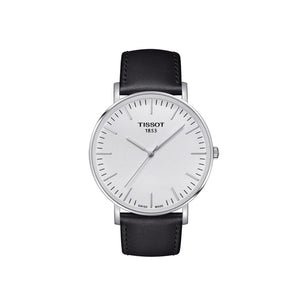 Everytime SS White Black Mens Watch