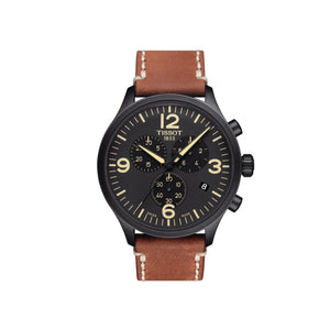 Chrono XL Black and Brown Mens Watch