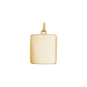 18ct Gold Plated True North Coin Charm