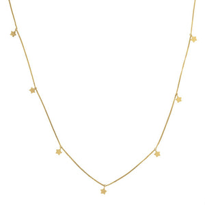 9ct Yellow Gold Thank The Stars Necklace