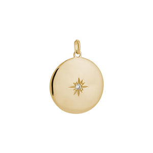 18ct Gold Plated Venus Charm