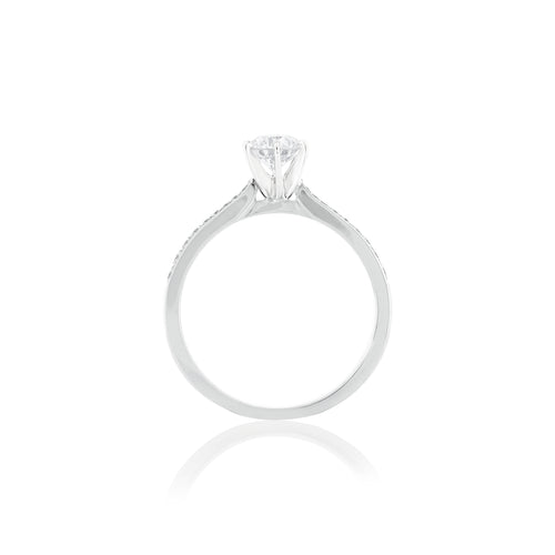 18ct White Gold Vera Diamond Ring