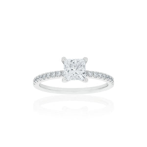 18ct White Gold Venetia Diamond Ring 1D=1.01t