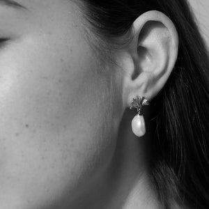 Silver Vita Drop Small Earrings