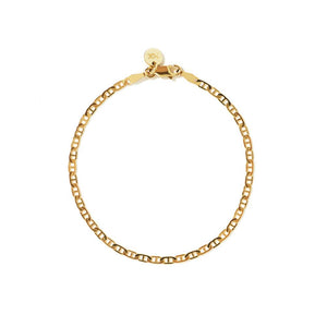 9ct Yellow Gold Anchor Chain Bracelet