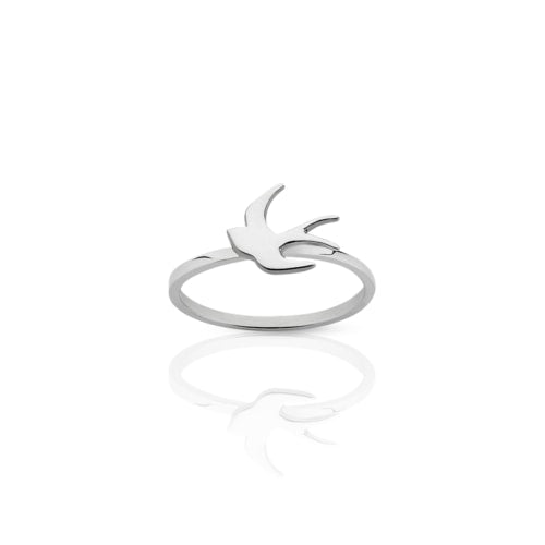 ML Swallow Stacker Ring