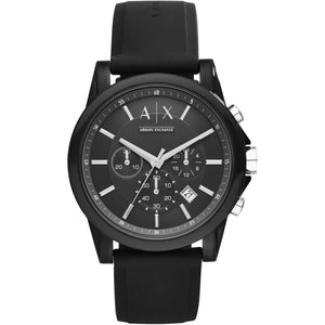 Active Chronograph Watch Black