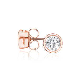 18ct Rose Gold Plated Celestial Small Studs