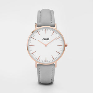 La Boheme Rose Gold Colour / White and Grey Watch