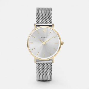 Minuit Mesh Gold Colour / Watch