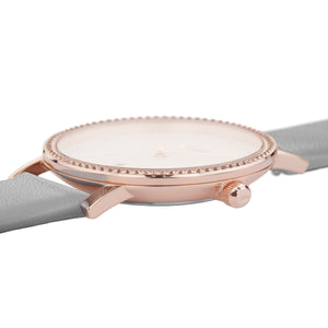 Le Couronnement Rose Gold White / Soft Grey Watch