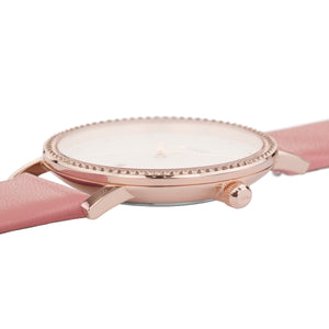 Le Couronnement Rose Gold White / Soft Rose Watch