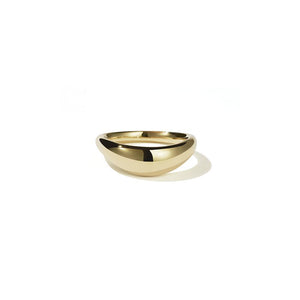 18ct Yellow Gold Claude Band Plain
