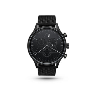 Engineer Black/Stainless Steel Milanese Watch