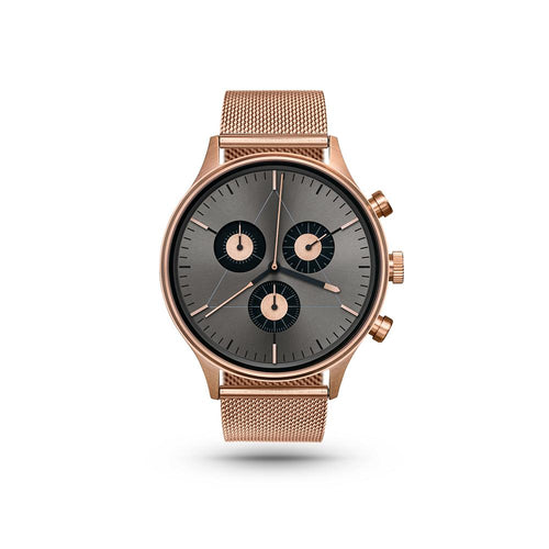 Engineer Rose Gold/Stainless Steel Milanese Watch