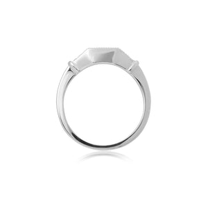 18ct White Gold Kara Diamond Band