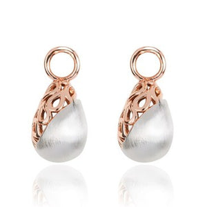 18ct Rose Gold Plated Elyssian Earring Attachments