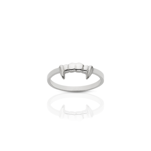 ML Fang Stacker Ring