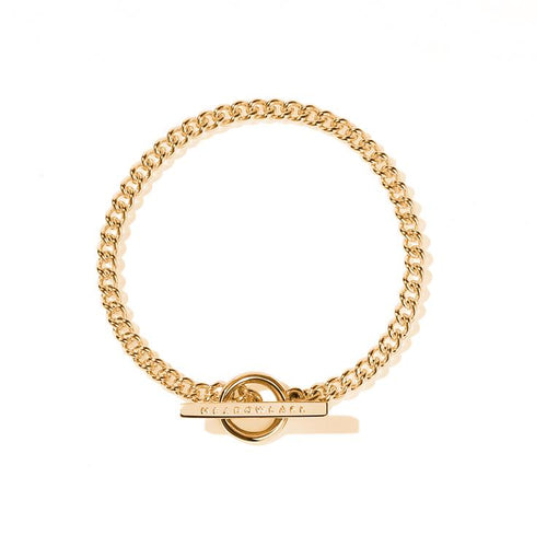 9ct Yellow Gold Fob Bracelet
