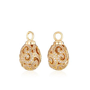 18ct Gold Plated Imperial Earrings Attachments