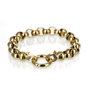18ct Gold Plated Steel Me Small Bracelet
