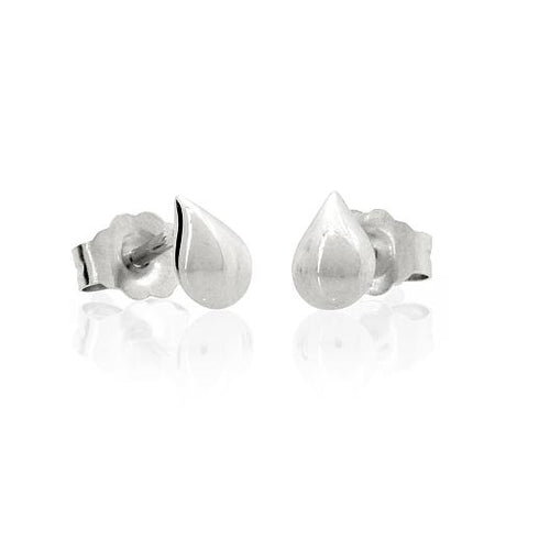 Silver A Drop In The Ocean Studs