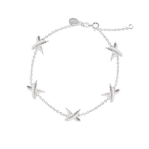 Mini Feather Kisses x5 Bracelet