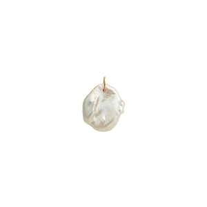 Gold Plated Keishi Pearl Charm