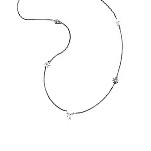 Silver Mini Charm Necklace