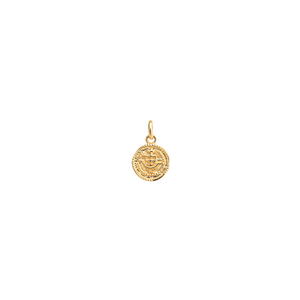 Gold Plated Lost Treasure Coin Charm