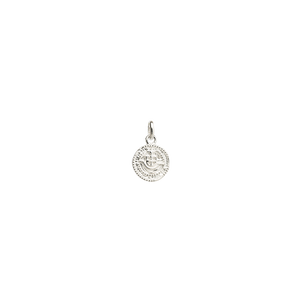 Silver Lost Treasure Coin Charm