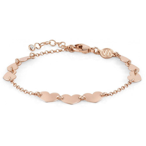 Rose Gold Plated Armonie Heart Bracelet