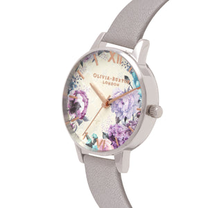 Grey Lilac and 30mm Watch