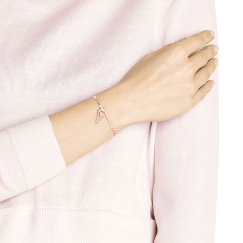 Remix Alphabet Charm Rose Gold Letter Y