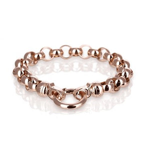 18ct Rose Gold Plated Steel Me Medium Bracelet
