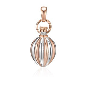 18ct Rose Gold Plated Arabian Nights Pendant