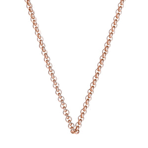 18ct Rose Gold Plated Steel Me Petite Necklace 80cm