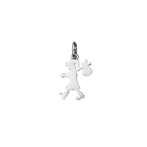Silver Small Runaway Girl Charm