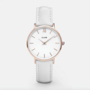 La Boheme Rose Gold Colour / White Watch
